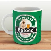 Caneca Na Mesa do Boteco  - Estampei