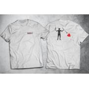 PRÉ-VENDA - Camiseta Black Beard (O Barbanegra) ESTAMPA NAS COSTAS - BRANCA - Depilações Masc. Spec Ops