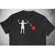 PRÉ-VENDA - Camiseta Black Beard (O Barbanegra) PRETA - Depilações Masc. Spec Ops