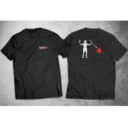 PRÉ-VENDA - Camiseta Black Beard (O Barbanegra) ESTAMPA NAS COSTAS - PRETA - Depilações Masc. Spec Ops