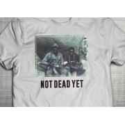 PRÉ VENDA - Camiseta Not Dead Yet BRANCA- Incursion Group
