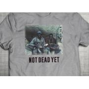 PRÉ VENDA - Camiseta Not Dead Yet CINZA MESCLA - Incursion Group