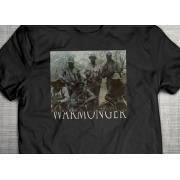 PRÉ VENDA - Camiseta Warmonger PRETA - Incursion Group