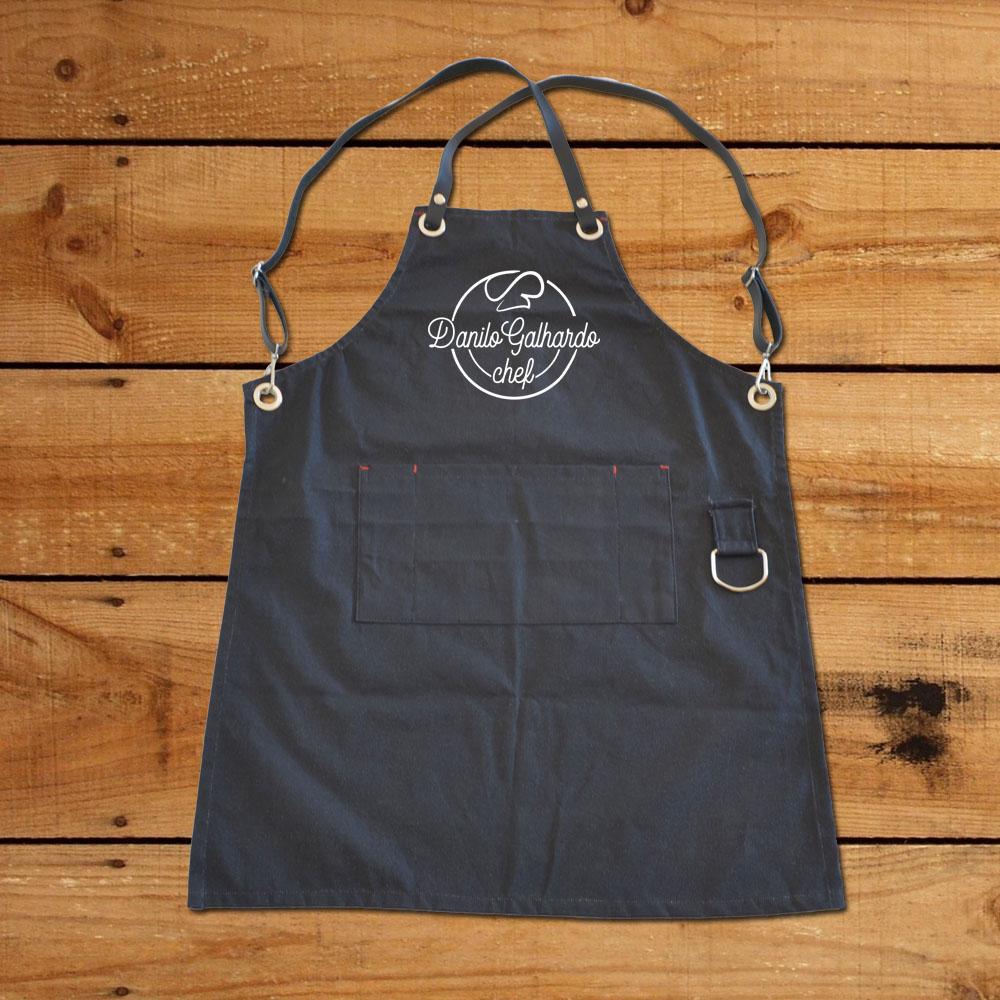 Avental Premium - Coleção Chef Danilo Galhardo