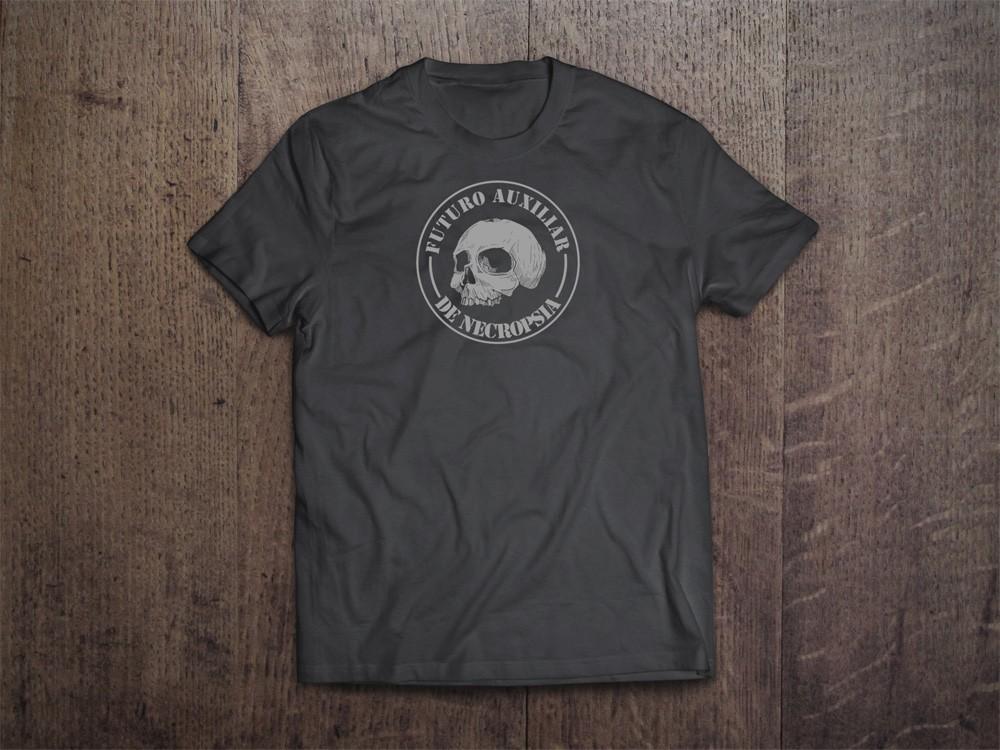 Camiseta Auxiliar de Necropsia - Crimes Reais