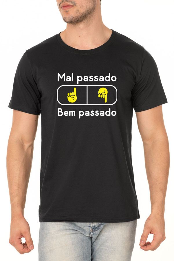 Camiseta Bem Passado ou Mal Passado? - Coleção Chef Danilo Galhardo - Unissex