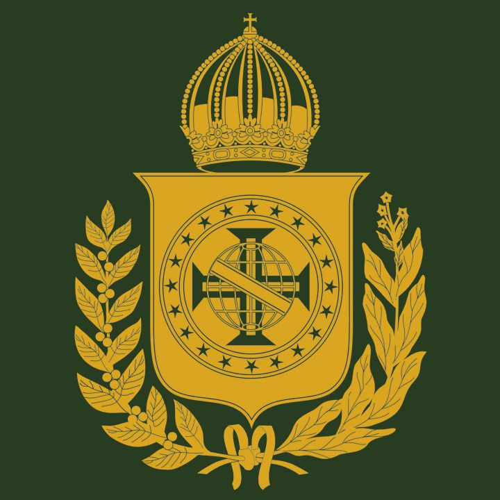 Camiseta Brasão Imperial - Masculino / Unissex