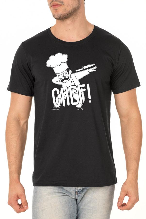 Camiseta CHEF! - Coleção Chef Danilo Galhardo - Unissex