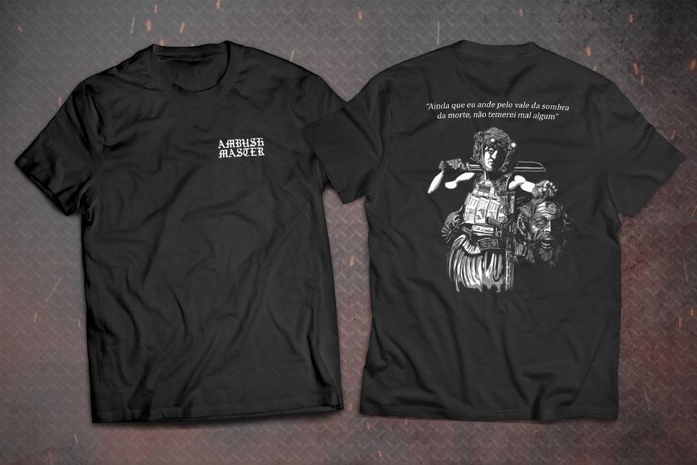 Camiseta Hunter of The Impious - Preta - Ambush Master