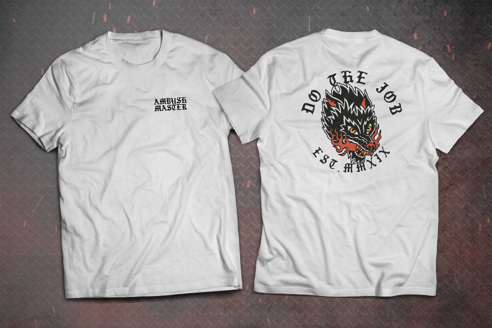 Camiseta Do The Job - Branca - Ambush Master