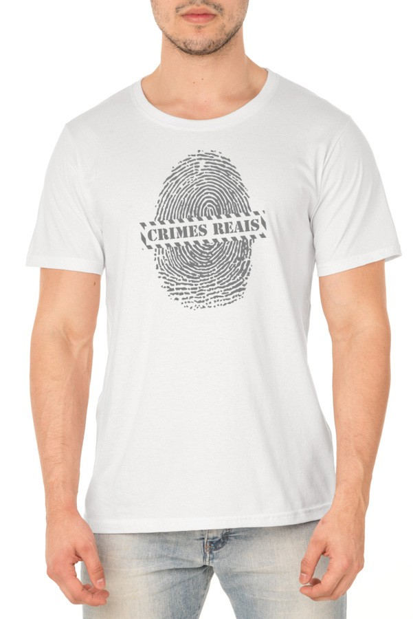 Camiseta Fingerprint - Crimes Reais