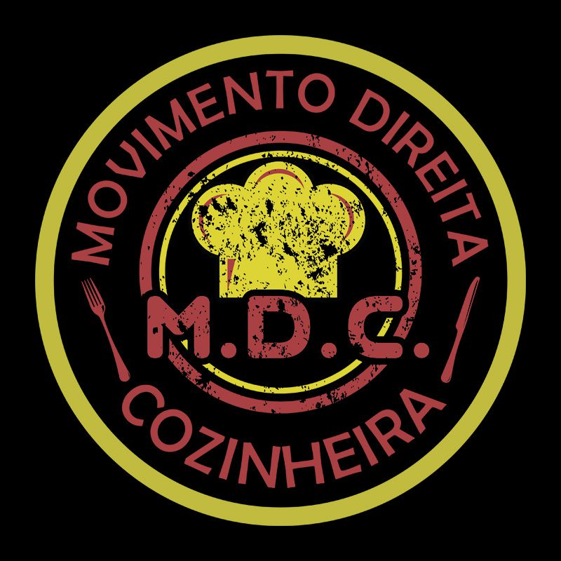 Camiseta Movimento Direita Cozinheira - Feminina / Babylook