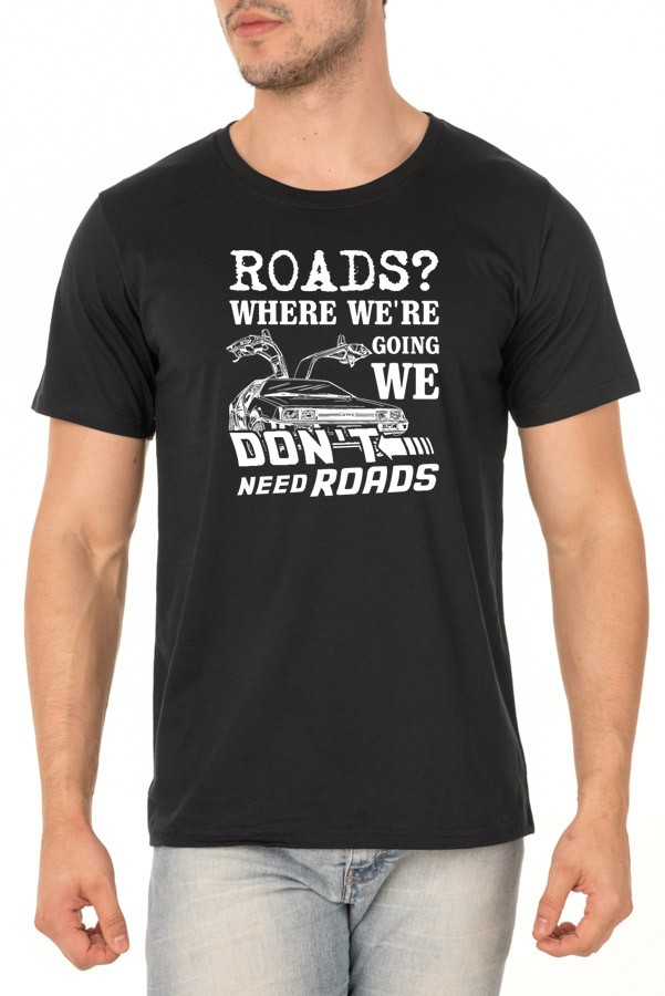 Camiseta No Roads - Unissex