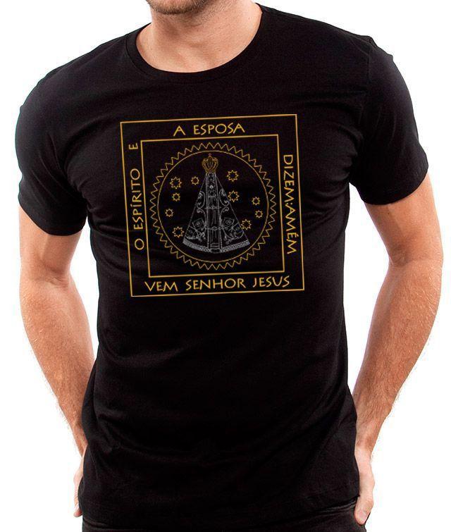 Camiseta Nossa Senhora Aparecida - Masculino / Unissex