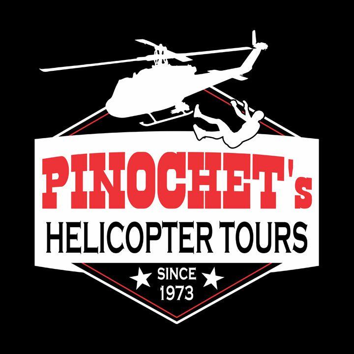Camiseta Pinochet's Helicopter Tours  - Masculino / Unissex