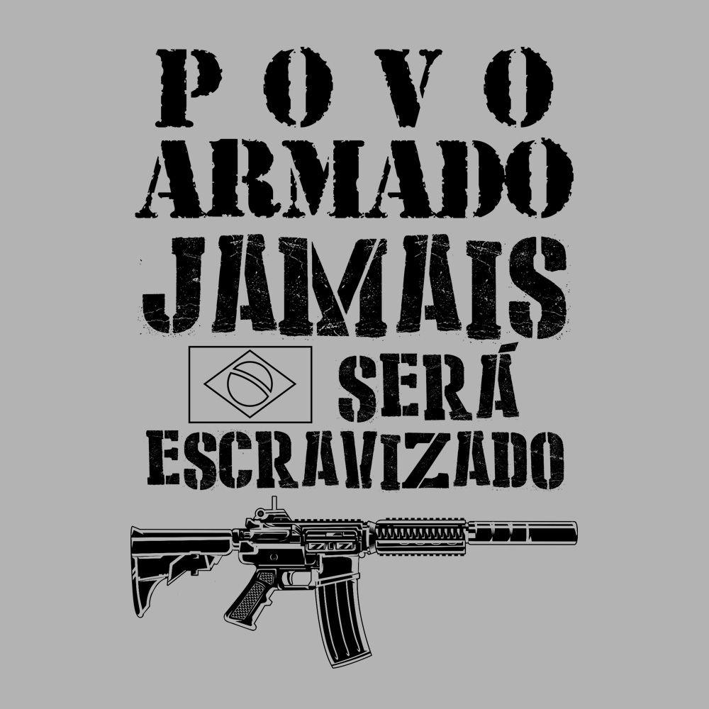Camiseta Povo Armado!  - Unissex