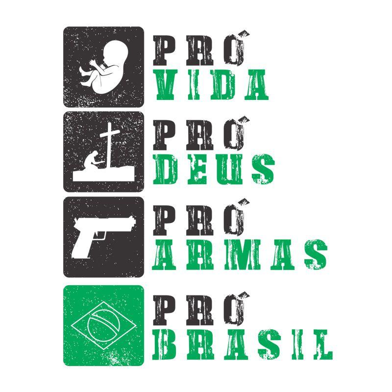 Camiseta Pró Vida - Masculino / Unissex