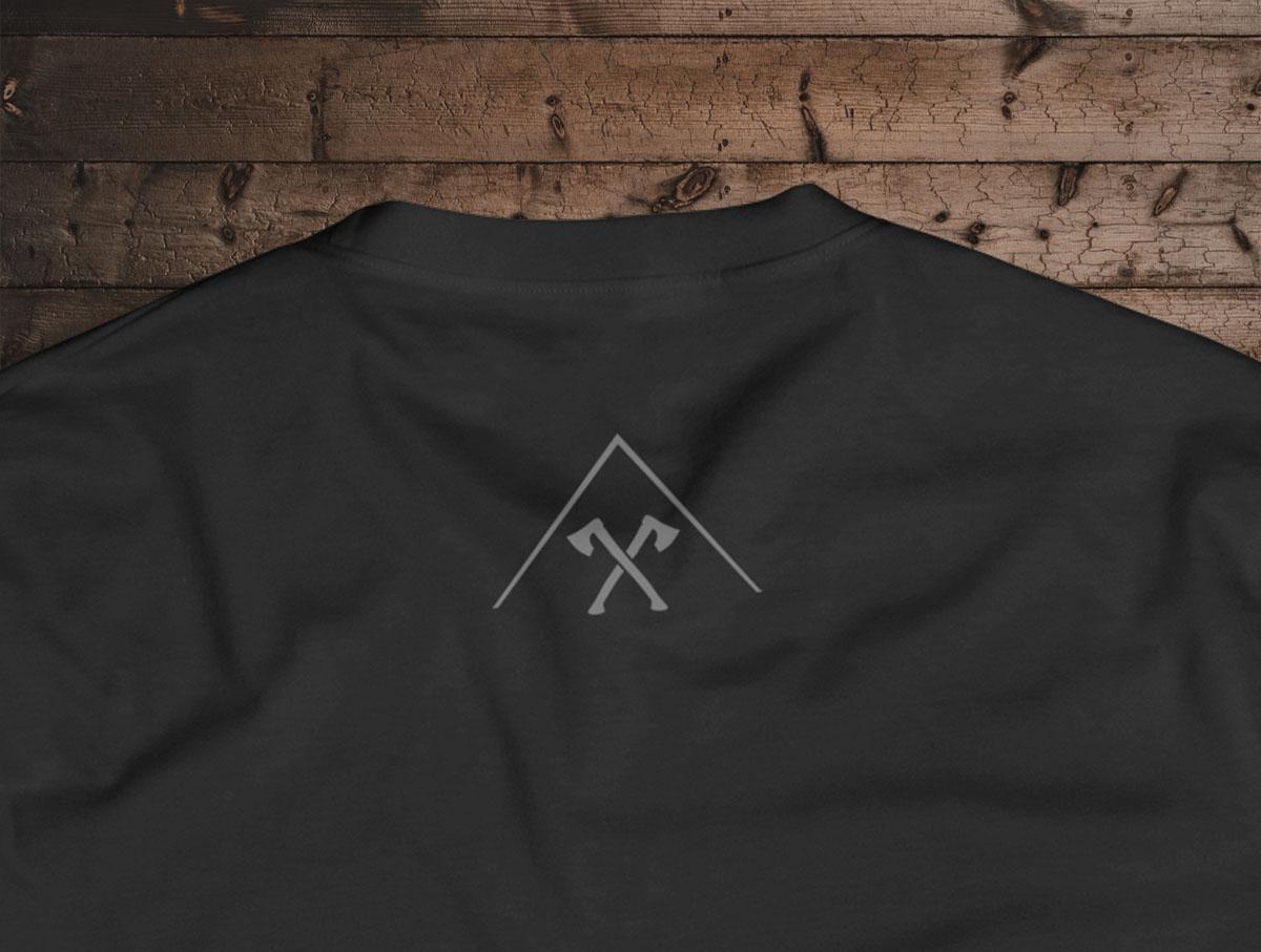 Camiseta Reborn - Canal Outdoors - Preta / Feminina / Babylook