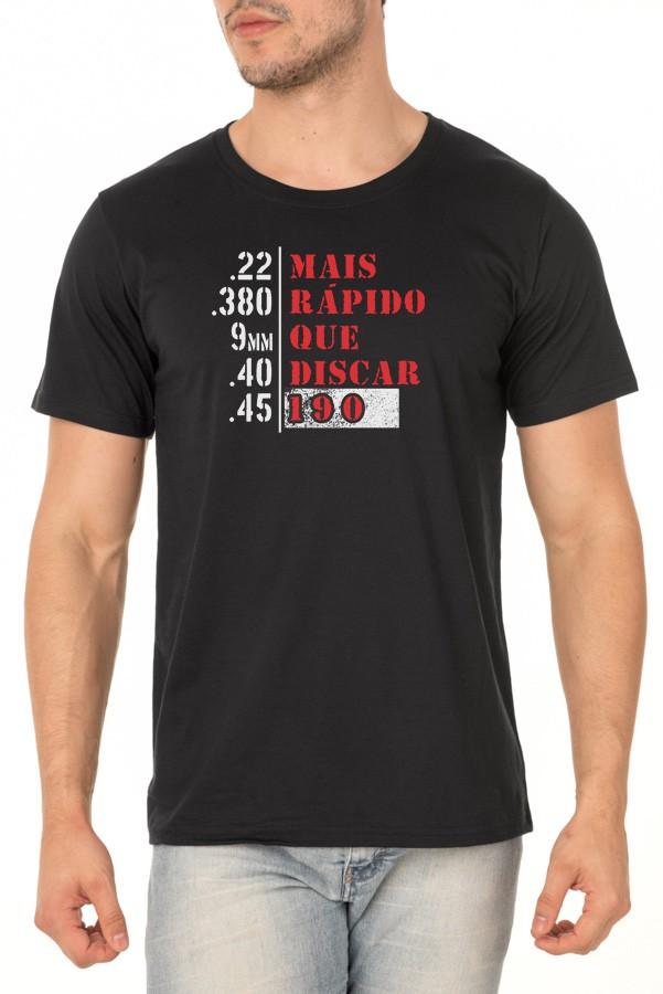 Camiseta RESPOSTA RÁPIDA - Masculino / Unissex