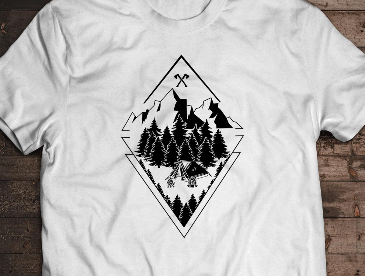 Camiseta Skin - Canal Outdoors - Branca / Unissex