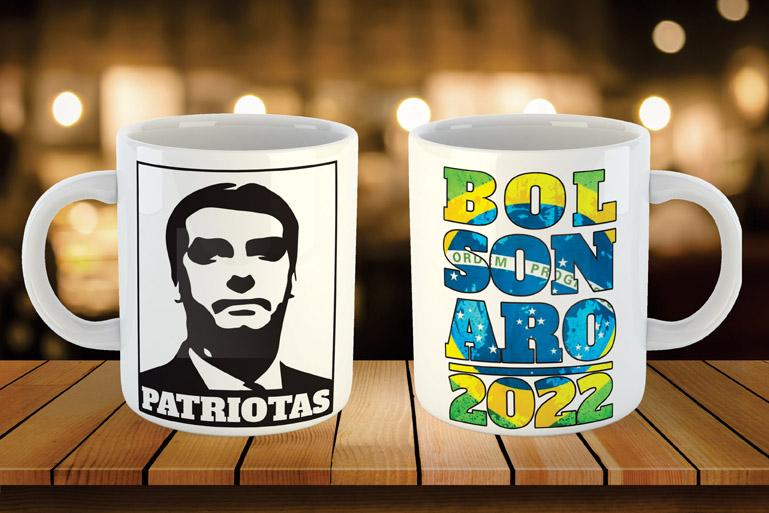 Caneca 2022 - Patriotas