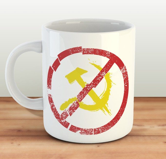 Caneca Better DEAD than RED! - ConservaTee