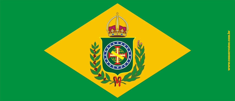 Caneca Brasil Império - ConservaTee