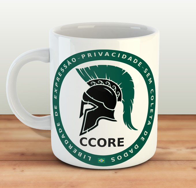 Caneca Conservative Core 2.0 - CCORE.ORG  - Estampei