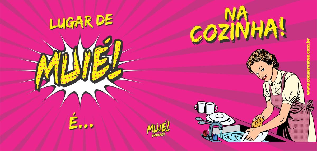 Caneca Muié! Podcast - ConservaTee