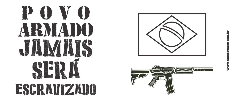 Caneca Povo Armado! - ConservaTee