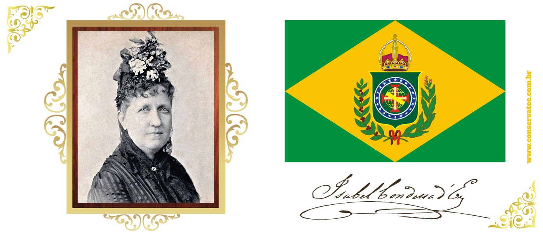 Caneca Princesa Isabel, A Redentora - ConservaTee