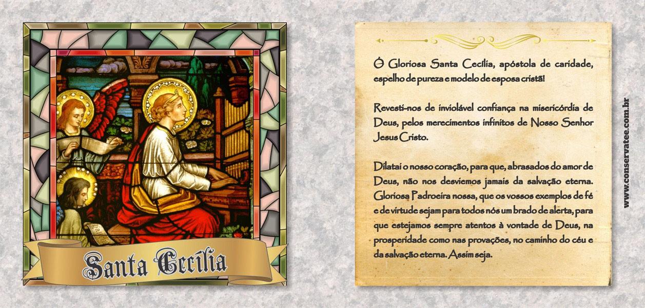 Caneca Santa Cecília - Estampei