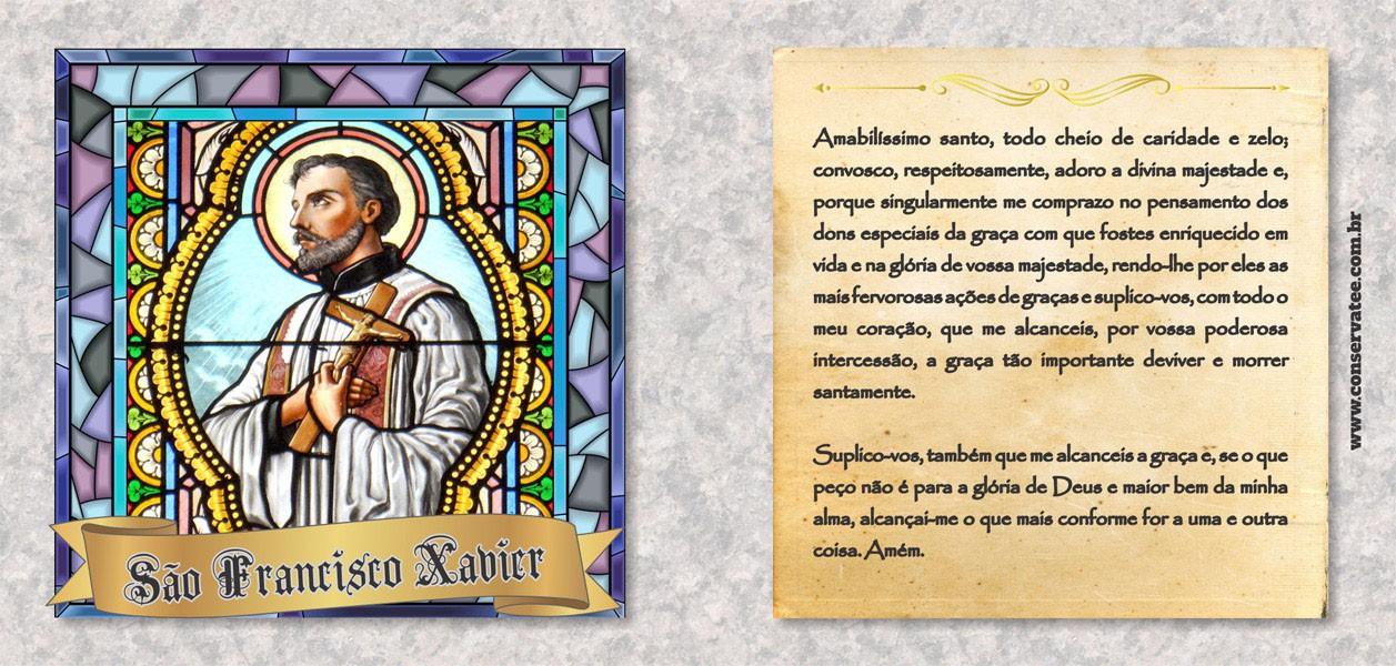 Caneca São Francisco Xavier - Estampei