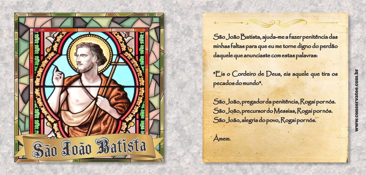 Caneca São João Batista - ConservaTee