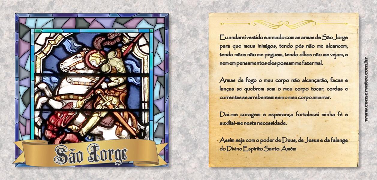 Caneca São Jorge - Estampei
