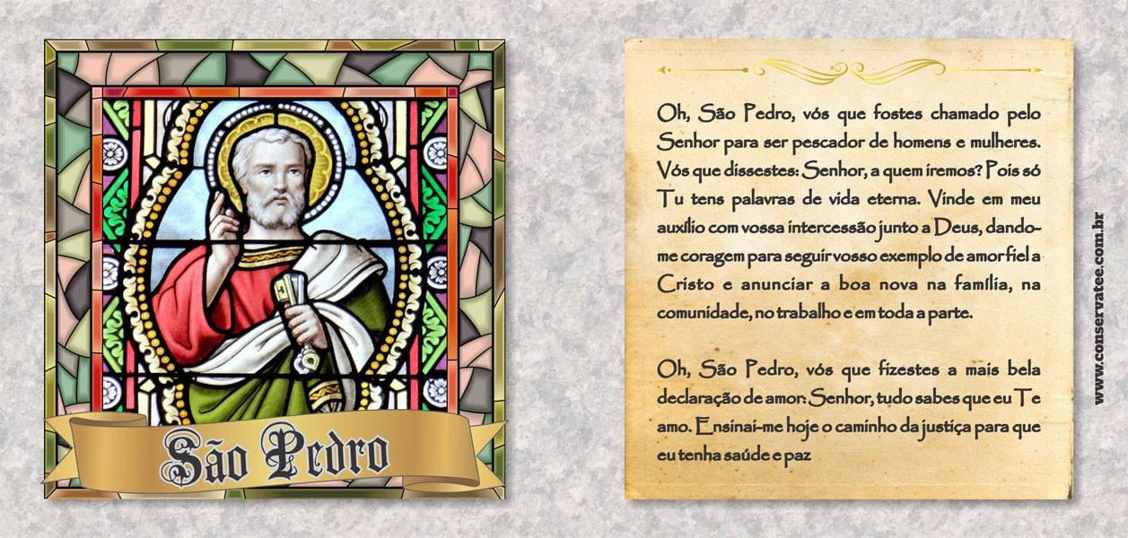 Caneca São Pedro - Estampei