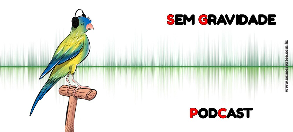 Caneca Sem Gravidade Podcast - Estampei