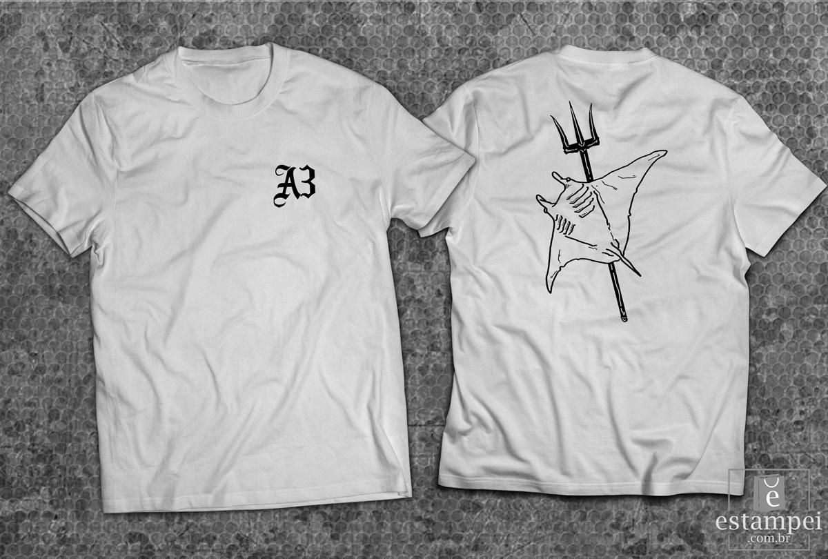 PRÉ VENDA - Camiseta A3Devcom - Arraia - Branca