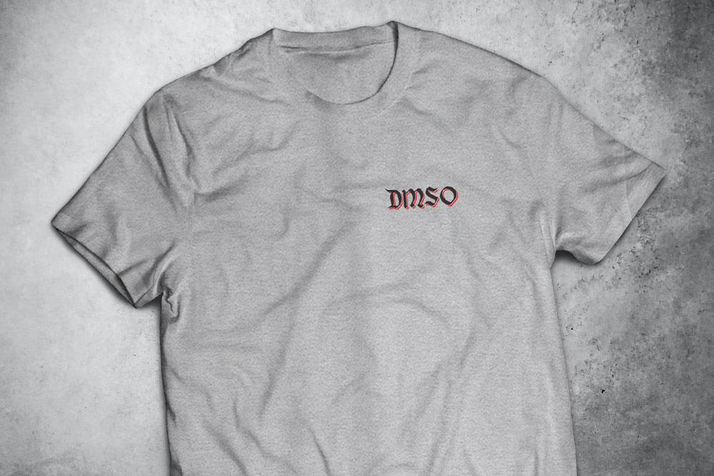 PRÉ-VENDA - Camiseta Black Beard (O Barbanegra) ESTAMPA NAS COSTAS -  CINZA MESCLA - Depilações Masc. Spec Ops