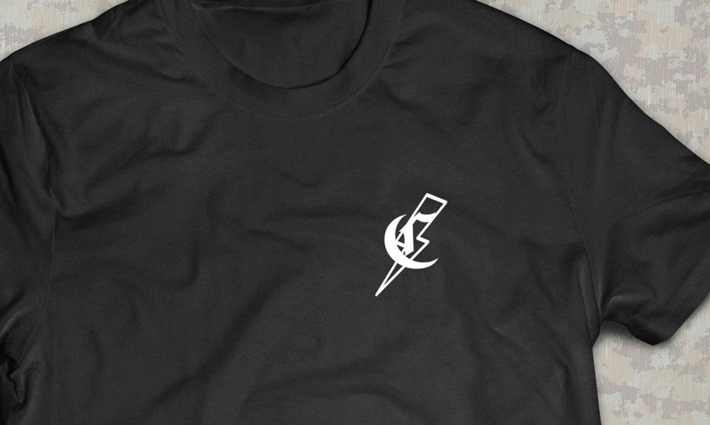 PRÉ VENDA - Camiseta Dark Heart - Commandos Brasil - Preta