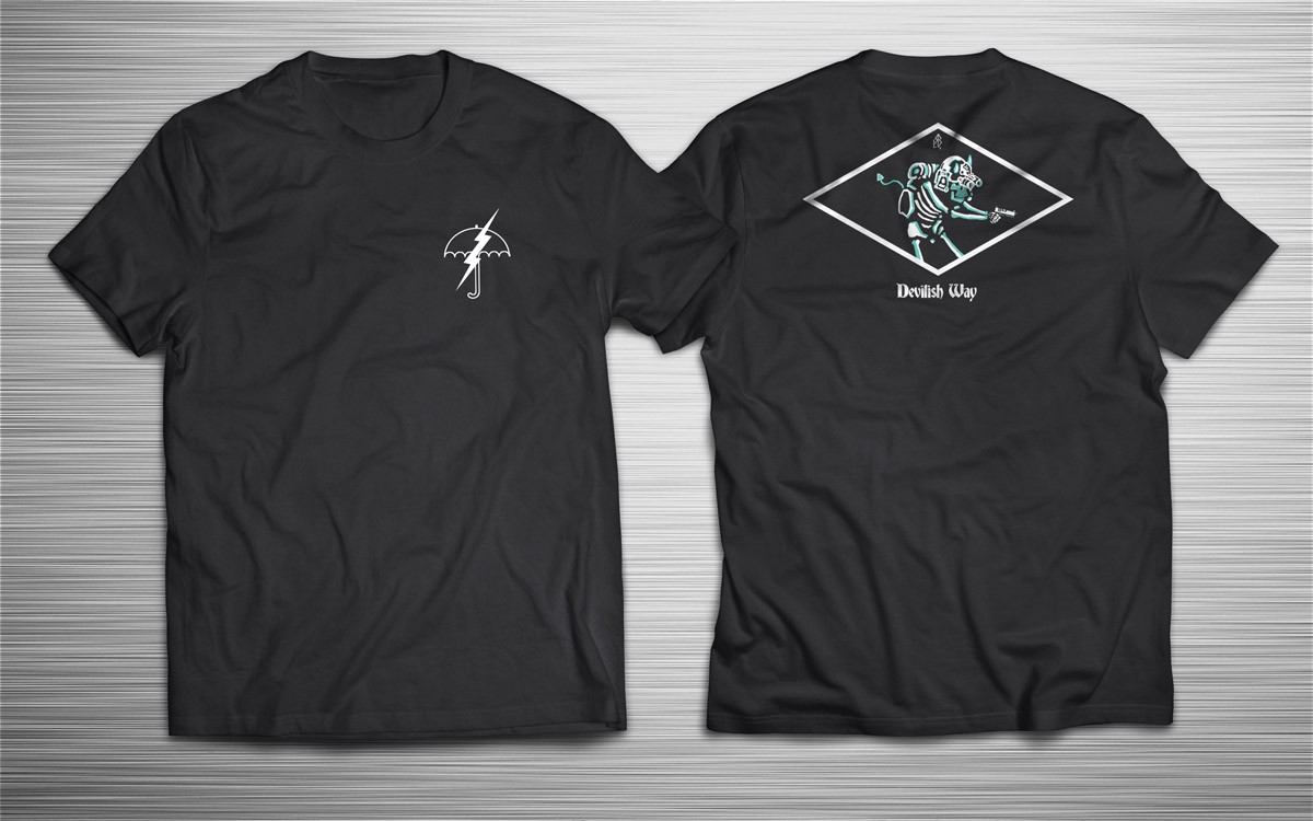 PRÉ VENDA ESTENDIDA!    - Camiseta Devilish Way - Incursion Group