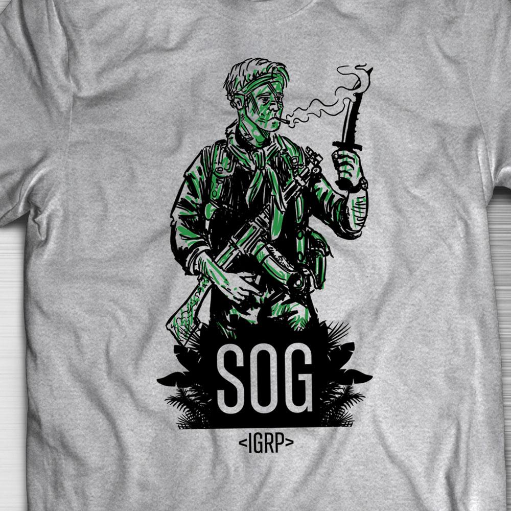 PRÉ VENDA - Camiseta MACV-SOG - Incursion Group