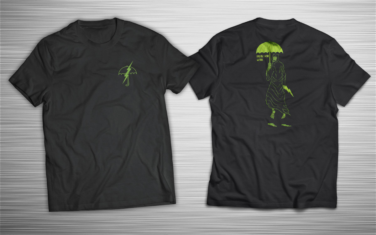 PRÉ VENDA - Camiseta Pray for War - Incursion Group - 3º LOTE