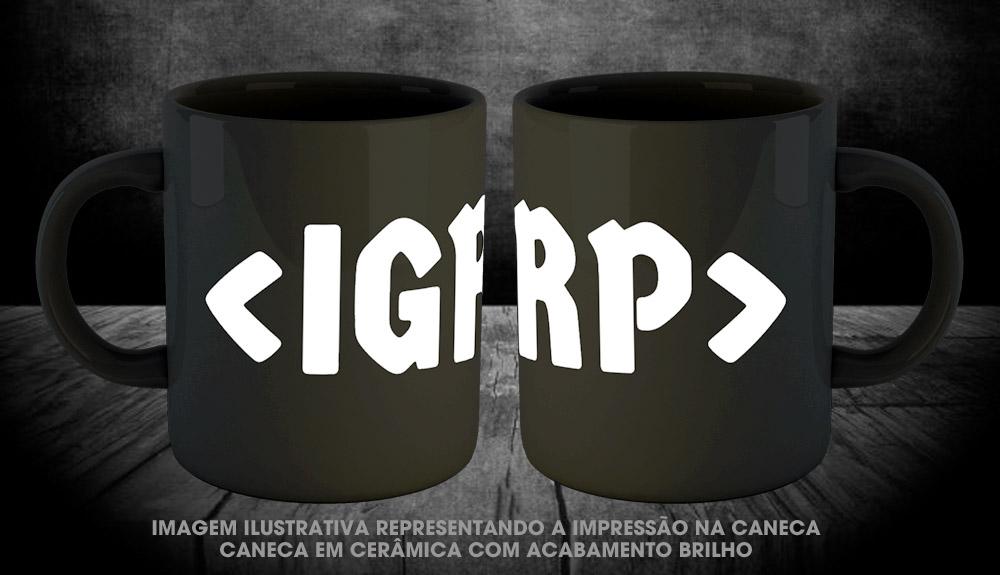 PRÉ VENDA - Caneca IGRP - Incursion Group