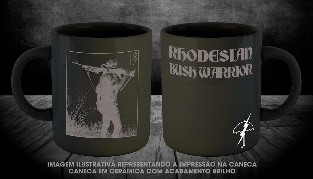 PRÉ VENDA - Caneca Rodhesian Bush Warrior - Incursion Group