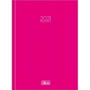 Agenda Diária Pepper Costurada Rosa 2021 Tilibra