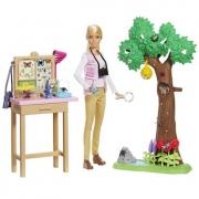 Barbie National Geographic Cuidadora De Borboleta Mattel