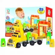 Blocos de Montar Baby Land Construtor 25 Peças 8008 Cardoso