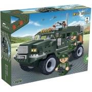 Blocos De Montar Forca Tatica Veiculo Militar 8252 Banbao