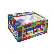 Blocos De Montar Mega Bricks 24 Peças 2210 Pais E Filhos